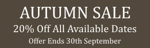 Autumn Offer 20% Off At The Holiday Home In Liverpool