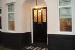 Front Entrance, Luxury Holiday Home, Liverpool