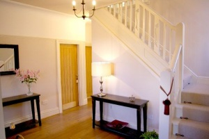 Hallway, Luxury Holiday Home, Liverpool
