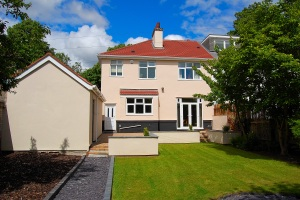 Rear Garden, Luxury Holiday Home, Liverpool