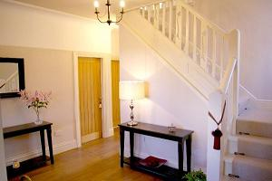Welcoming Hallway of Liverpool Holiday Home